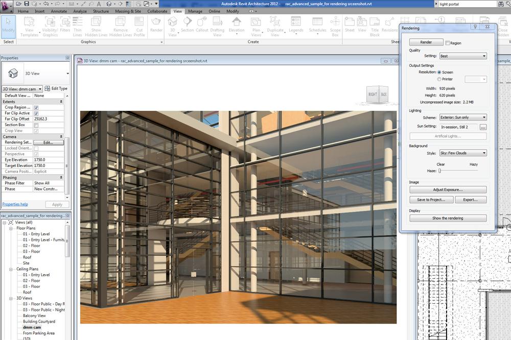 Aec perspective bim revit production for Architecture firms that use revit